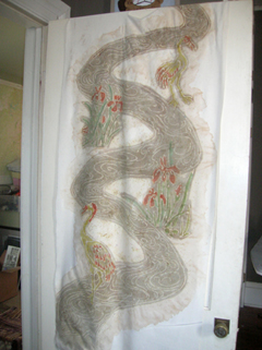 the back of the dragon kimono