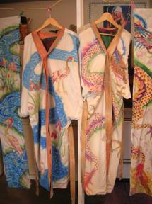 scarf kimono